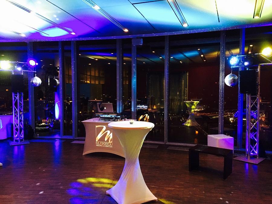 DJ Hochzeit Köln Sky
