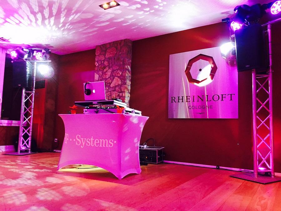 Rheinloft Cologne dj Hochzeit Köln