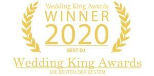 Wedding King Award DJ 2020